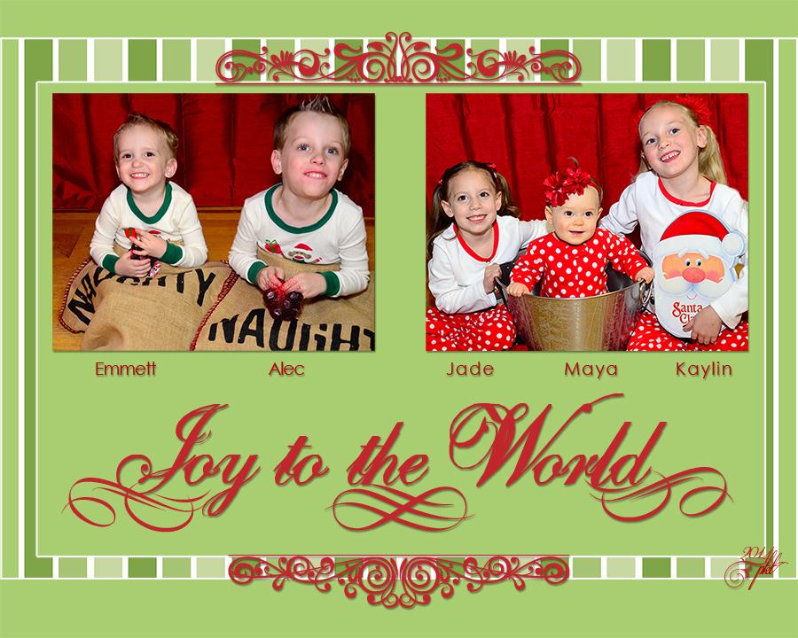 D web 1 inside Christmas grandchildren