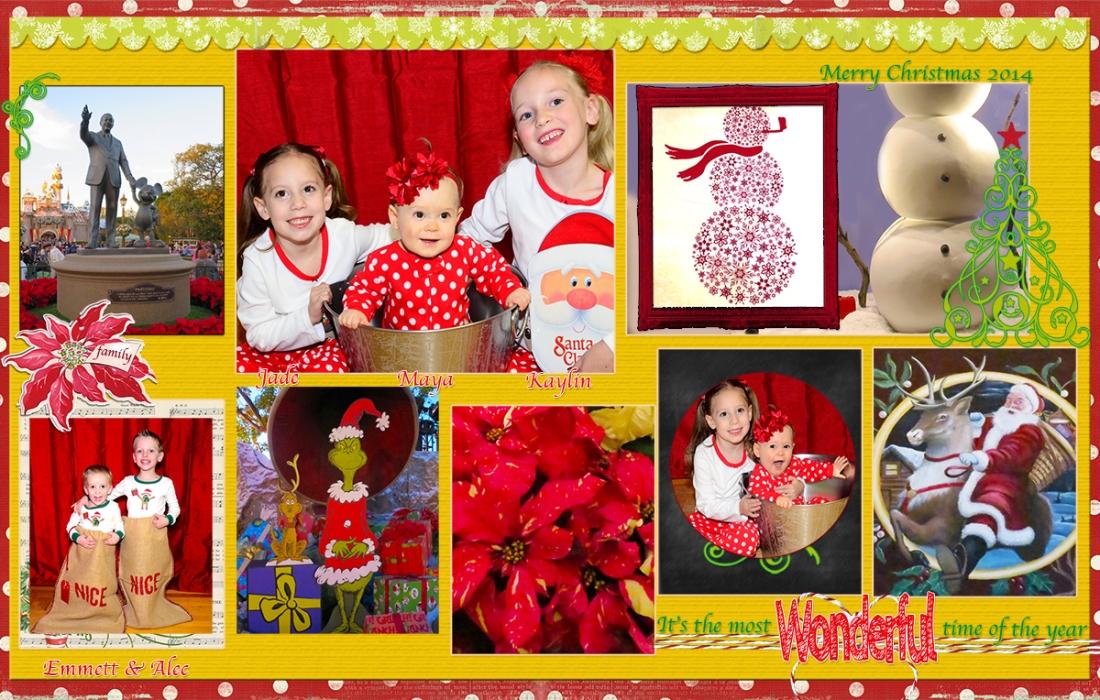 web grandkids Christmas Disneyland
