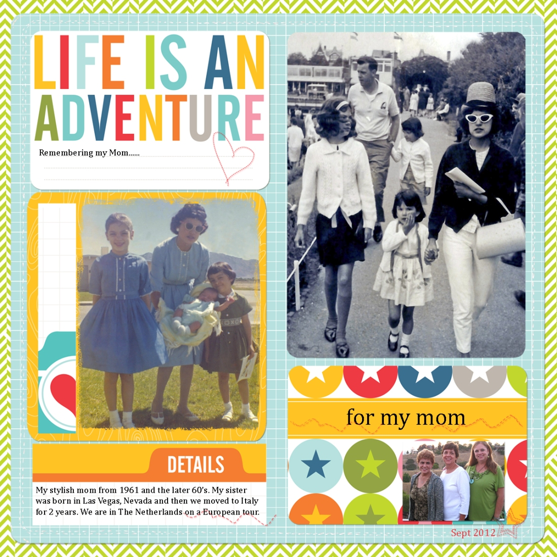 web Mother's Day JS-ProjectLifeTemplate2013 2