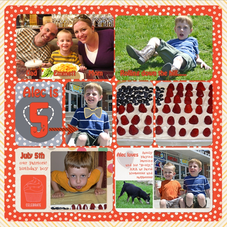 3webAlec 5th birthday-ProjectLifeTemplate2014