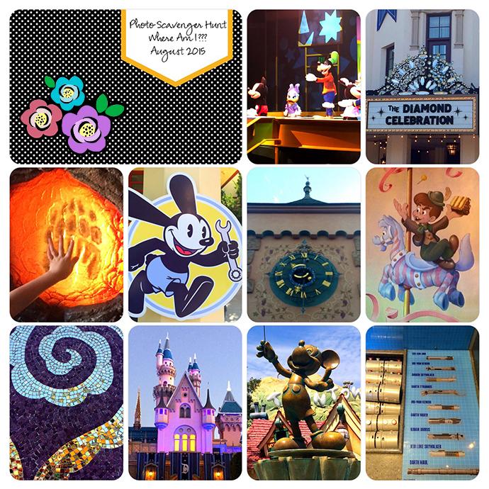 web 3 color Disneyland scavengerproject-life