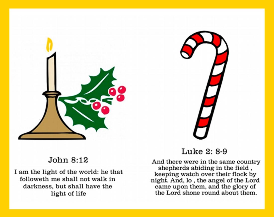 symbols of Christmas candle