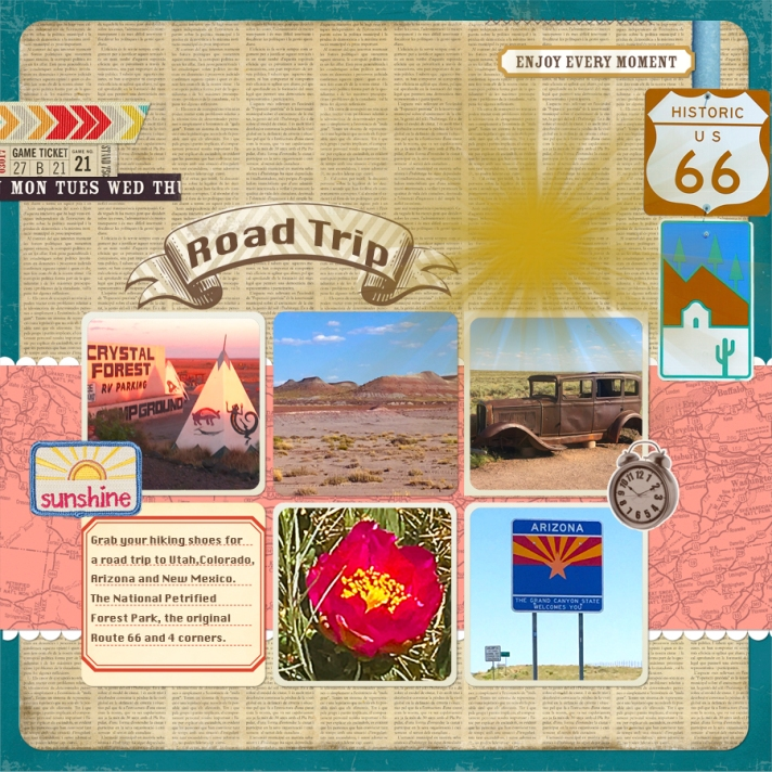 web Road Trip layout JS-PSF-0526-PaintWithPatternedPaper